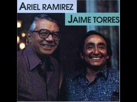 Ariel Ramirez - Jaime Torres. Con piano y charango (Full album)