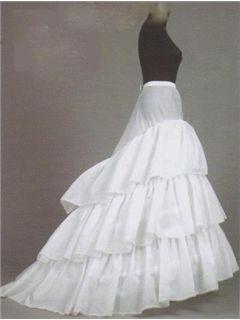 Perfect White Organza Wedding Petticoat