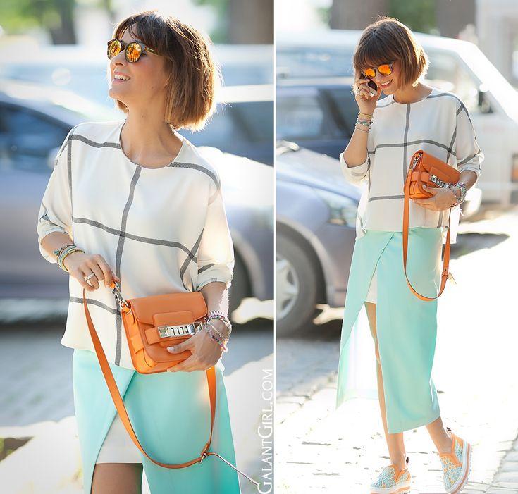 mint-pencil-skirt-orange-proenza-schouler-ps11-galantgirl-streetstyleblog
