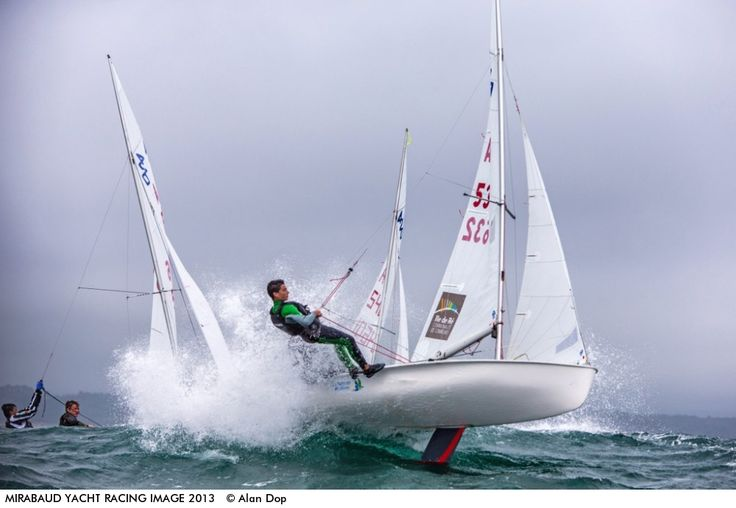 Photo by Alan Dop - It was the 15th of August and at the start of the 420 junior European Championship held at Pwllheli Sailing Club which i...