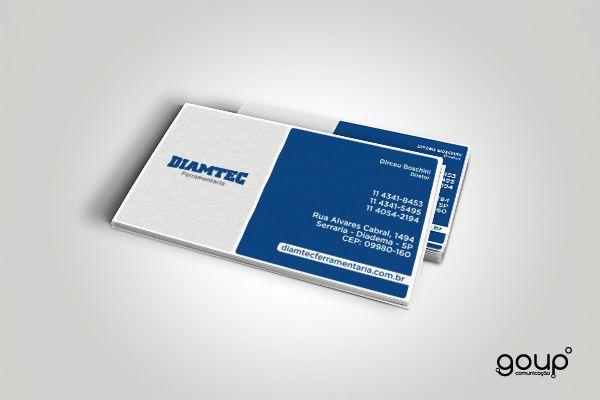 Cartão de visita - Diamtec