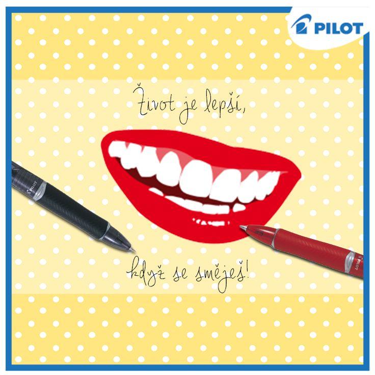 Úkol dne je jasný. Smát se! Slavíme totiž den úsměvů! :)
