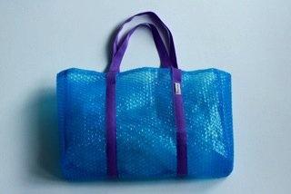 POPPY bag   torba z folii bąbelkowej