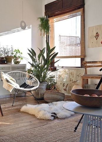 Bohemian living room #home #livingroom
