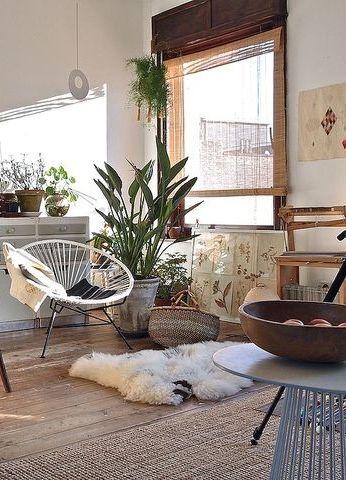Bohemian living room #home #livingroom