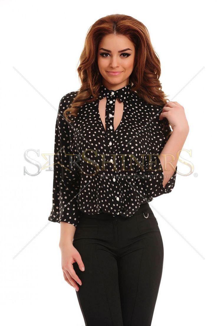 PrettyGirl Affectionately Black Shirt
