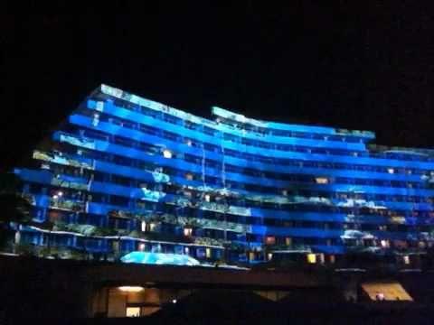 Mapping 3D Gran Hotel Venetur Puerto la Cruz Venezuela