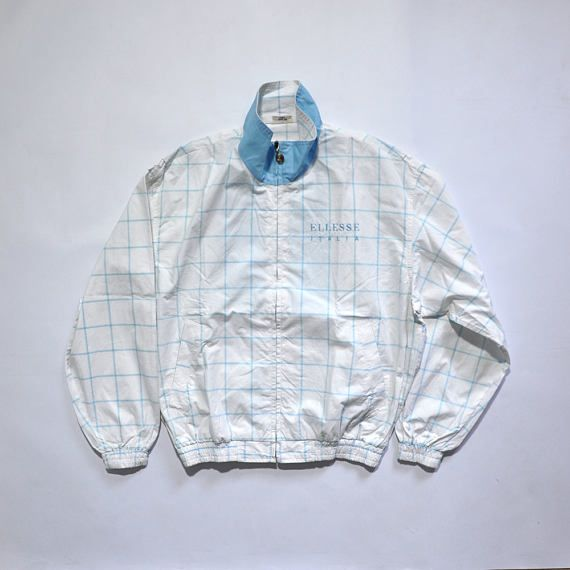 Vintage Ellesse Ladies Jaspo Jacket / Outdoor Jacket / Hip Hop / 80s / 90s Fashion Outfits // Retro Streetwear // Windbreaker // Oldschool // men // women // unisex // Rare Clothing Clothes Items // style // etsy