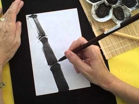 How to Paint Bamboo with Sumi-e Techniques