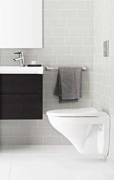 Seinä-wc on selkeä, tyylikäs ja turvallinen valinta.
