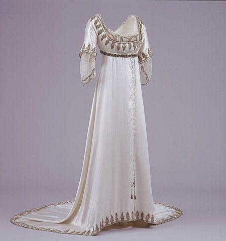 1912 evening dress