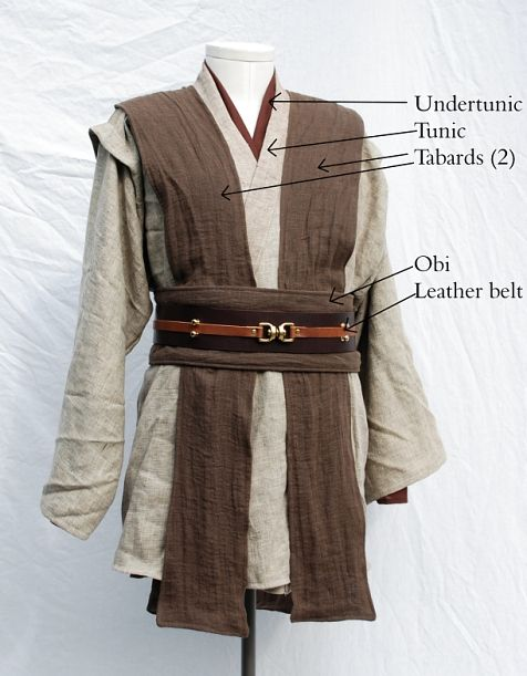 How to Jedi robe! Perfect for this year's movie event (and forgiving for new moms who are trying to get their bodies back together).