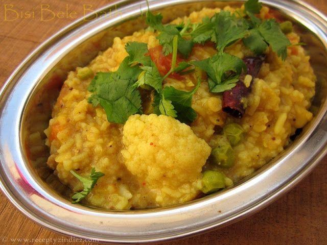 Recepty z Indie: Bisi Bele Bath