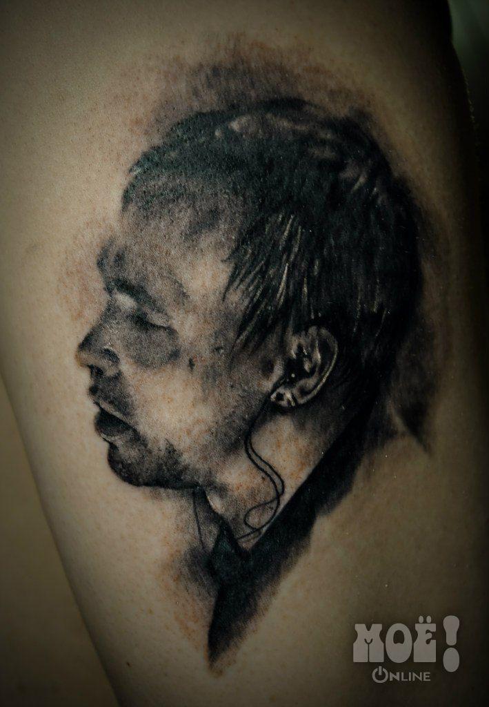 """Дельфин. Работы воронежских тату-мастеров в жанре """"портрет"""" / Works of Voronezh tattoo artists in the portrait genre"""