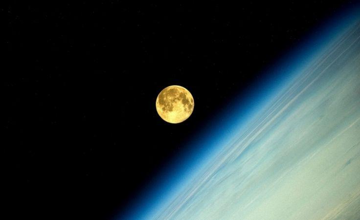6 fotos da superlua vista do espaço - Fotos - INFO