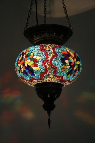 Bohemian Glow Turkish Lamp