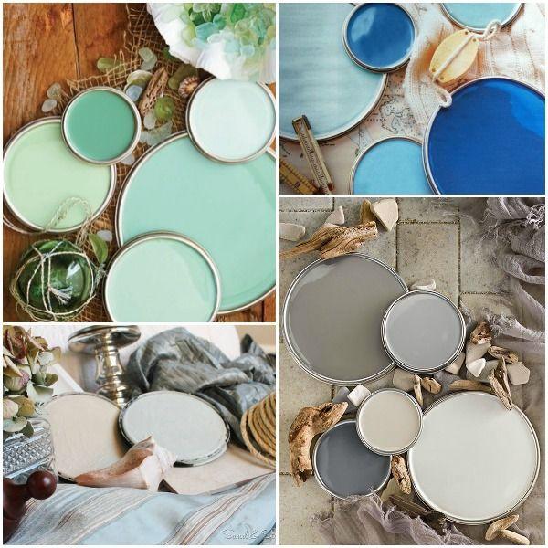 Coastal Color Palette- How to Decorate Coastal