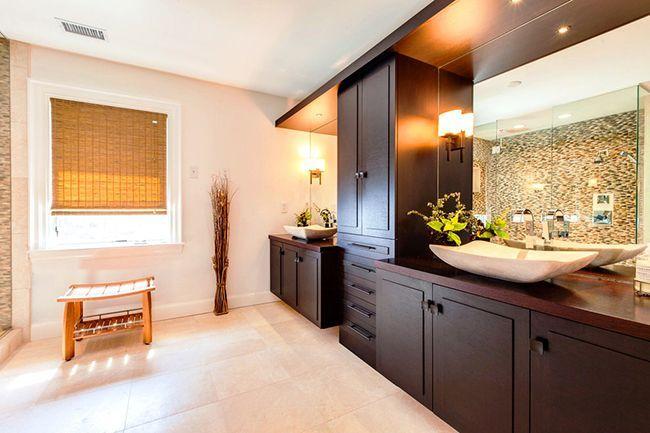 Bathroom cabinets how to combine practicality and aesthetics photo 14