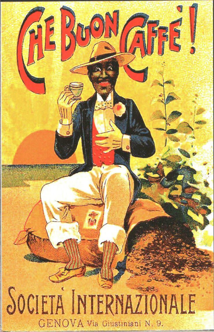 CARTOLINA ILLUSTRATA D'EPOCA - CHE BUON CAFFE, Società Internazionale - Riprod. in Collezionismo, Cartoline, Altre cartoline | eBay