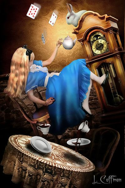 """love the Alice falling......neighbor has trampoline we could composite Lauren """"dropping in"""" lol"""