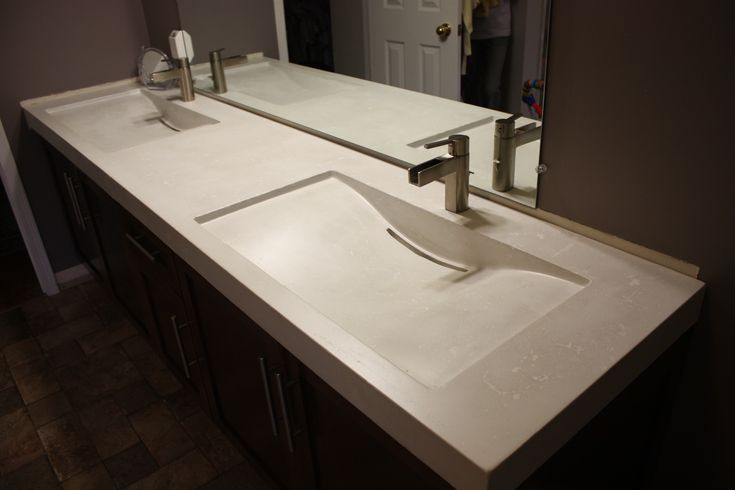 17 best images about double sink vanity tops by evergreen on pinterest to be custom boxes and for Double sink countertop bathroom