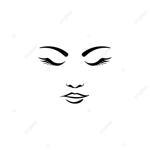 Beauty Face Woman Logo Template Attractive Beautiful Beauty Png And Vector With Transparent Background For Free Download Spa Logo Design Lip Logo Beauty Face Women