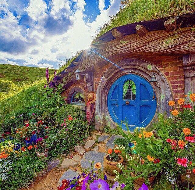 Hier ist der Hobbit zu Hause......