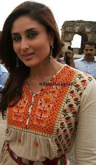 Kareena Kapoor Khan clicked on the sets of Singham Returns | PINKVILLA