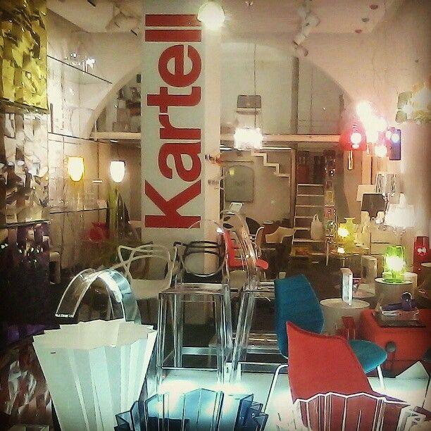 #Kartell's Italian furniture desing shop in Siena.