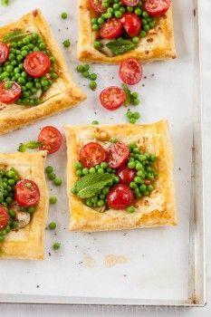 Taartjes met artisjok, feta en tomaat - simoneskitchen.nl