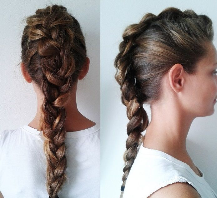#me #punk #braid www.laurarighi.it | Hairstyle | Pinterest ...