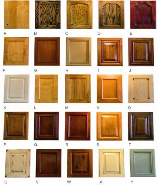 different types of cabinet wood 2
