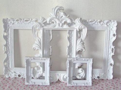 54 best White Picture Frames images on Pinterest | White frames ...