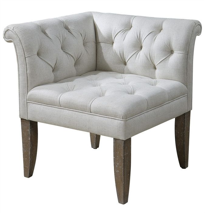Tahtesa Corner Chair from southern|ELEVATION