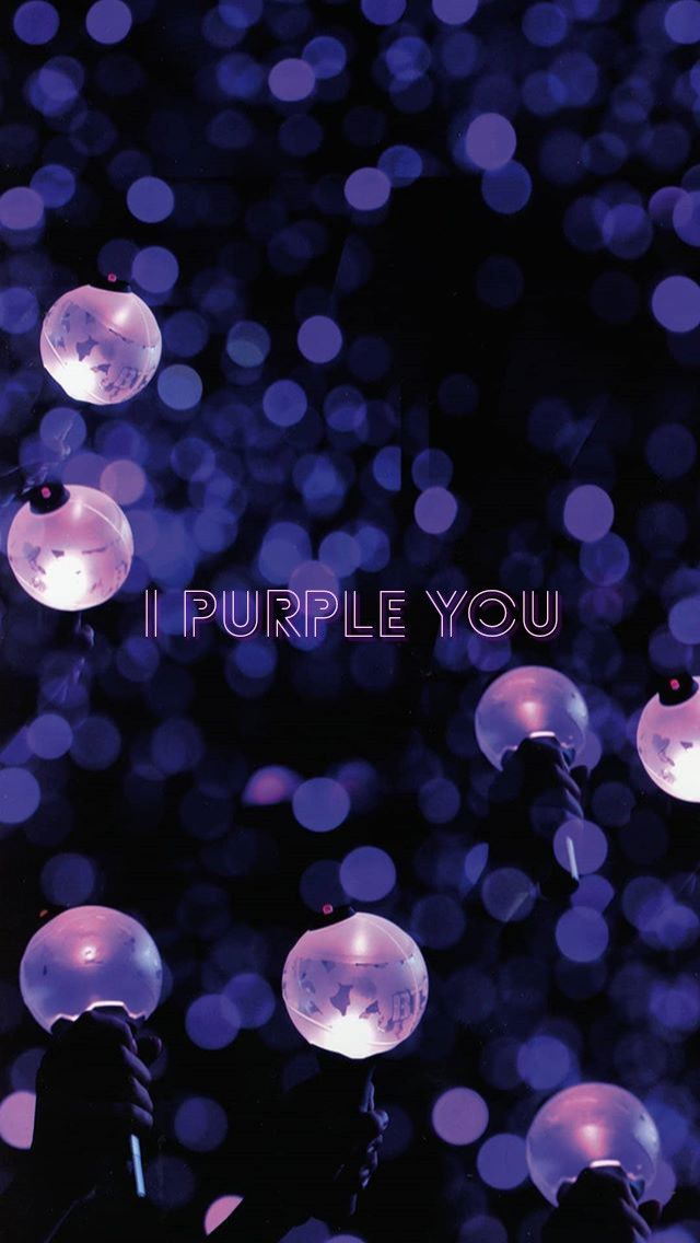 Bts Wallpaper I Purple You In 2020 Bts Lyric Bts Lockscreen Bts Army Bomb