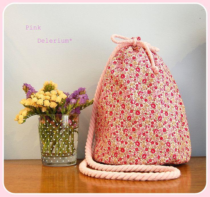 Koumpaki Pink Delirium Floral Pouch*