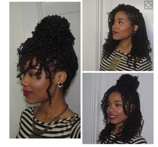 8 Kinky Twist Styles Perfect For Hot Summer Styling [Gallery] - Black Hair Information