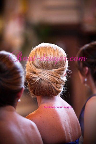 Chignons bas pour mariée 2013 | bnat-dzayerbnat-dzayer