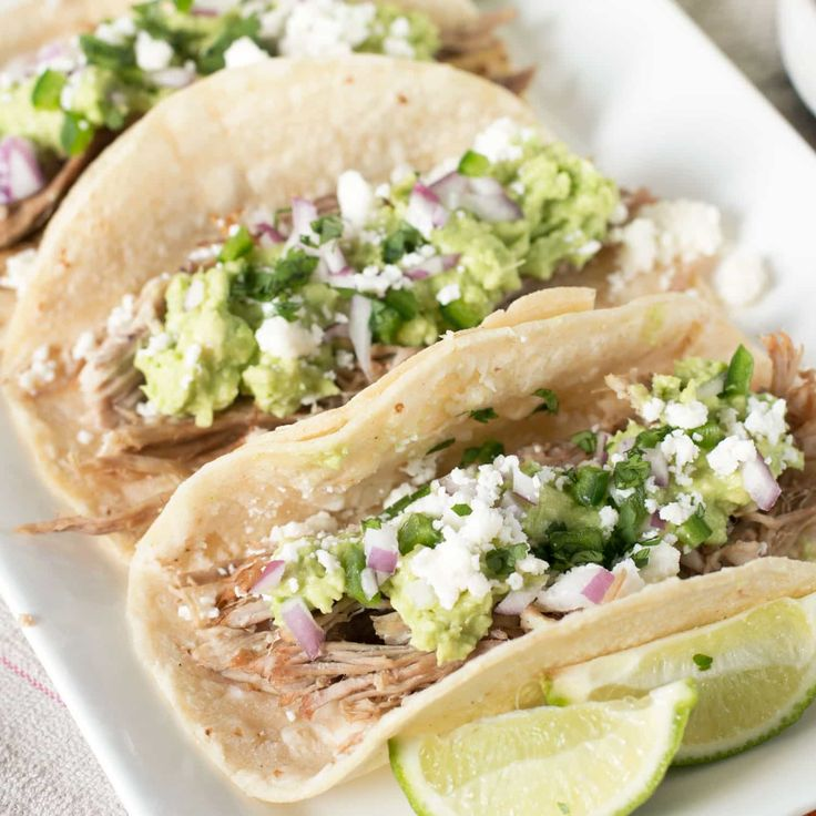 Easy and flavorful Tequila Lime Pulled Pork Tacos is a weeknight meal your entire family won't be able to get enough of!