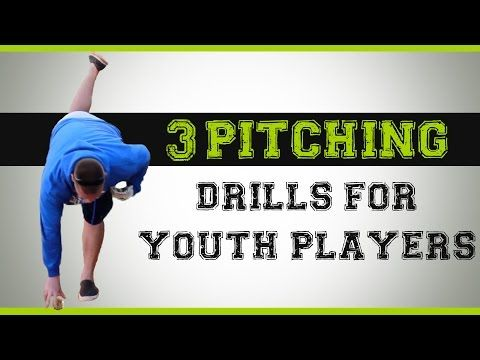 3 Baseball Pitching Drills for Youth Players - YouTube