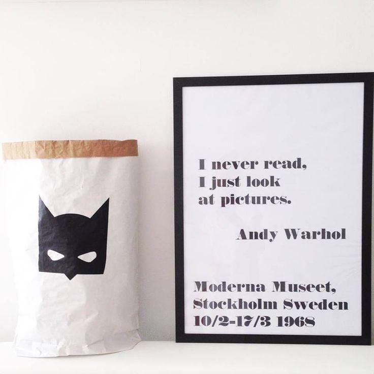 Batman papírzsák / Batman paperbag