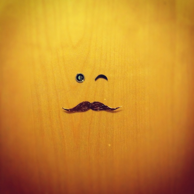 My dorm room door is looking sophisticated today. Hope it made you smile :)