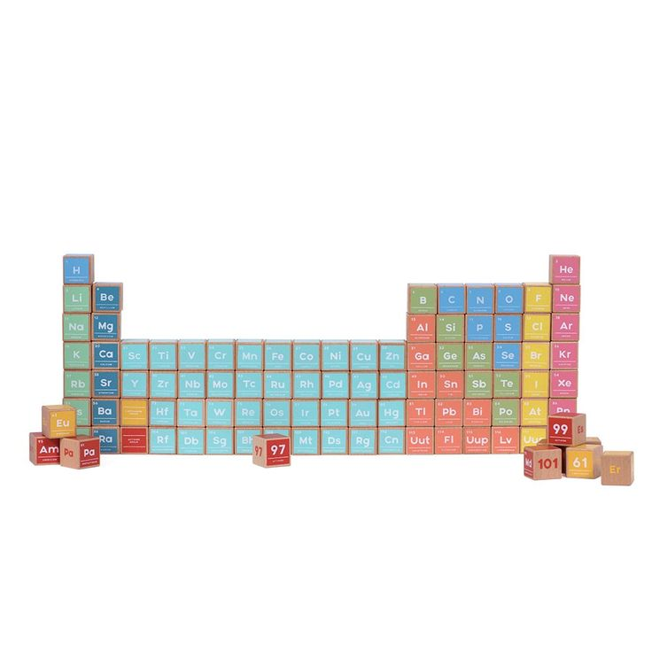 Best 25 periodic table blocks ideas on pinterest periodic table jay periodic table wooden block set 2016 marks the completion of the periodic table of urtaz Images