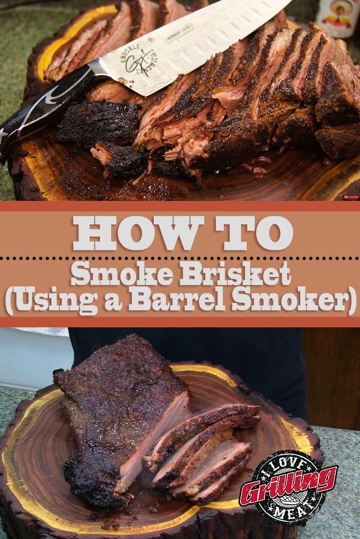 How To Smoke Brisket (Using a Barrel Smoker)
