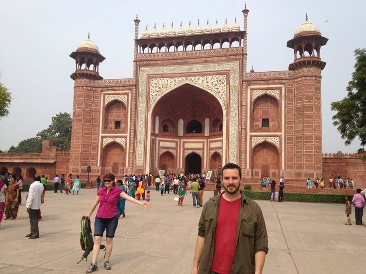 http://taojourneys.com/journey-to-india Jeff enjoying the city of Agra.