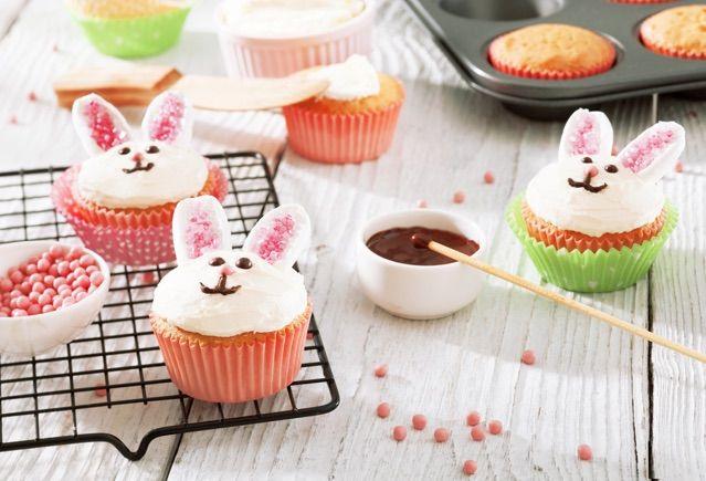 Paashaas-cupcakes