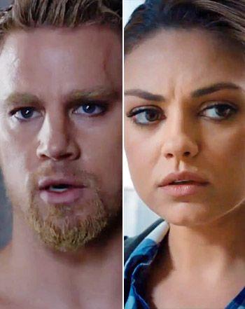 Mila Kunis, Channing Tatum Kiss in Jupiter Ascending Trailer: Video - Us Weekly
