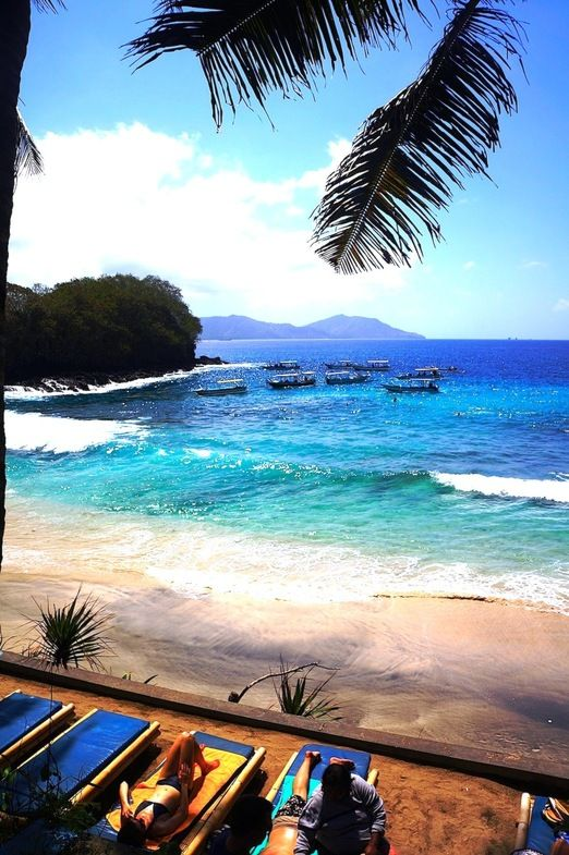 Blue Lagoon Beach; Padang Bai, Bali. Find out how you can get the cheapest Flights .. http://iwantthatflight.com.au/