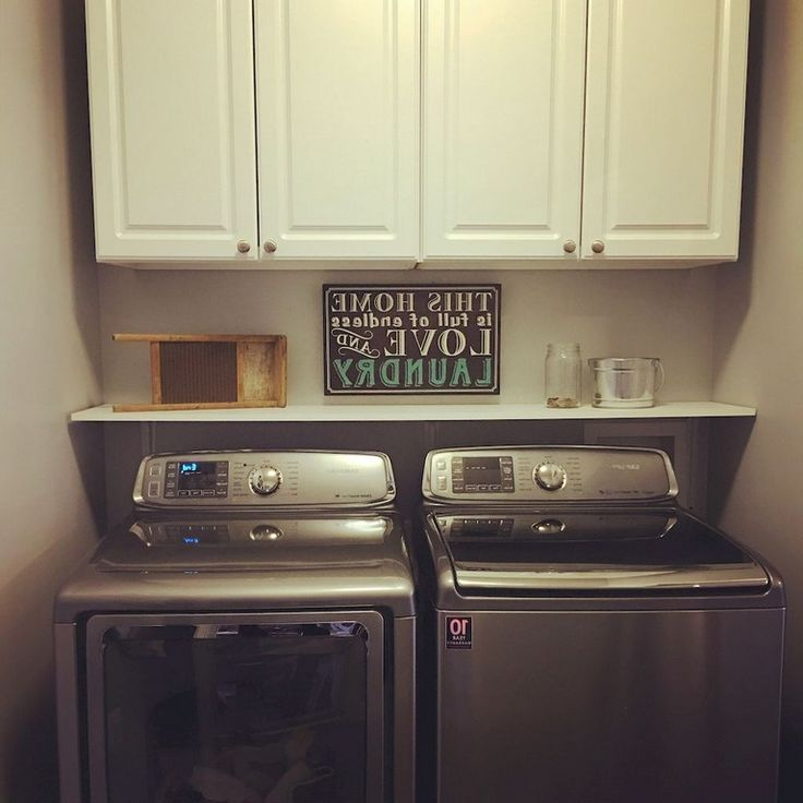 Best Laundry Room Location: 79+ Little Laundry Room Organization Ideas
