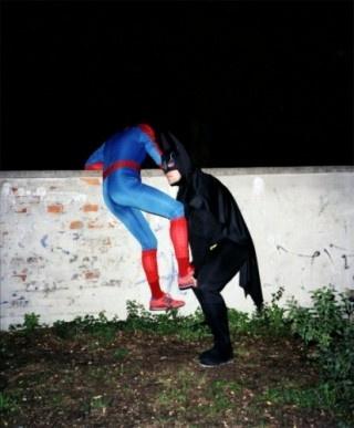 See, Batman is stronger than Spiderman: Teamwork, Spiders Men, Real Life, Friends, Spiderman, Superheroes, Batman, Help Hands, Super Heroes